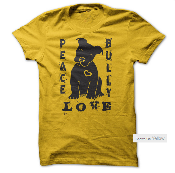 Peace Love Bully T Shirt