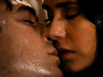 vampire diaries damon and elena kissing. Best Kiss: Damonamp; Elena