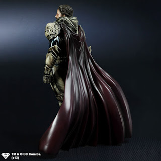 Square Enix Play Arts Kai Man of Steel Jor-El Figure