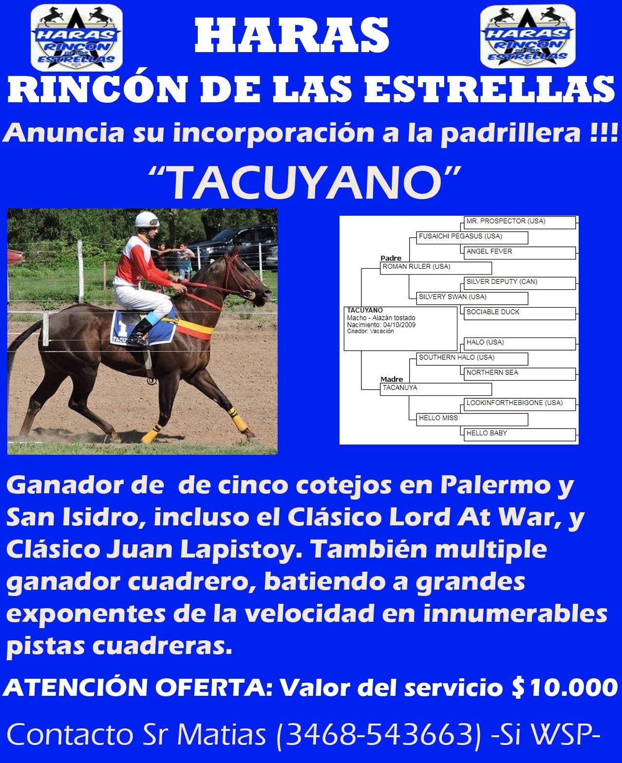 HS RINC ESTRELLAS TACUYANO