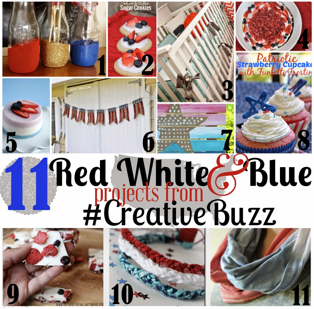 Carissa Miss: Red, White, and Blue #creativebuzz