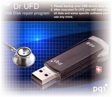 Dr ufd PQI USB 2.0 recovery tool