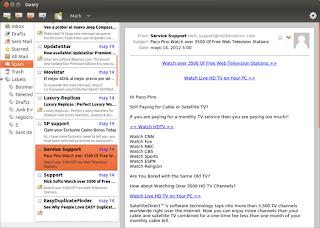 Geary 0.2, el cliente de correo liviano para Ubuntu, correo liviano ubuntu, correo escritorio ubuntu
