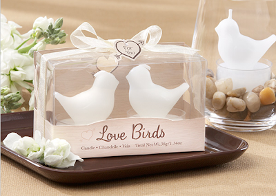 http://allstyleweddings.com/Love-Birds-White-Bird-Tea-Light-Candles