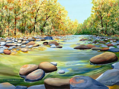 sope creek painting