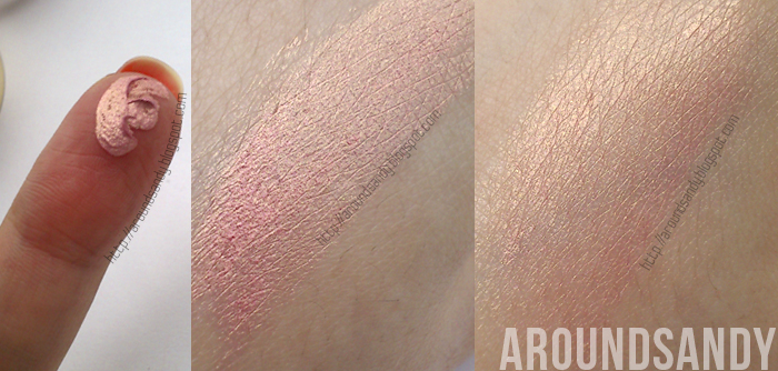 Swatches Kiko Colour Shock Sunset coral Long Lasting Eyeshadow