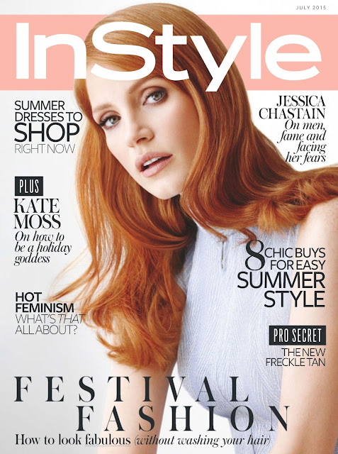 Actress @ Jessica Chastain  – InStyle UK, July 2015