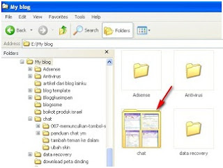 Mengubah gambar folder-thumbnails folder windows explorer