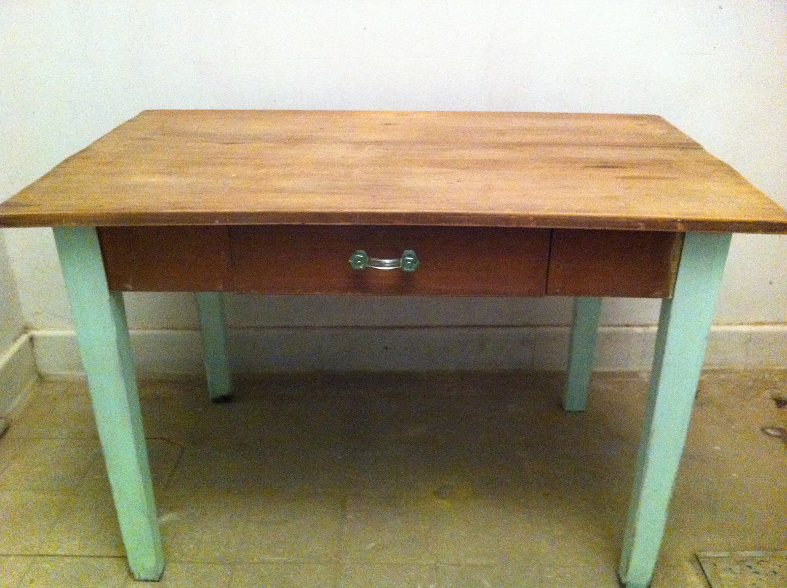 Mesa de comedor o escritorio deco marce tienda - Mesas de escritorio antiguas ...