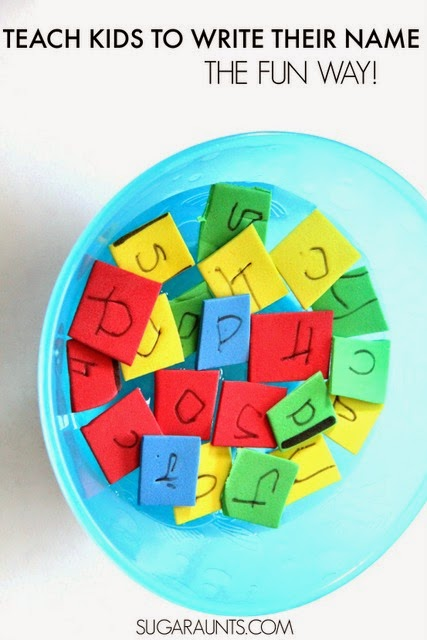 teaching preschoolers to write