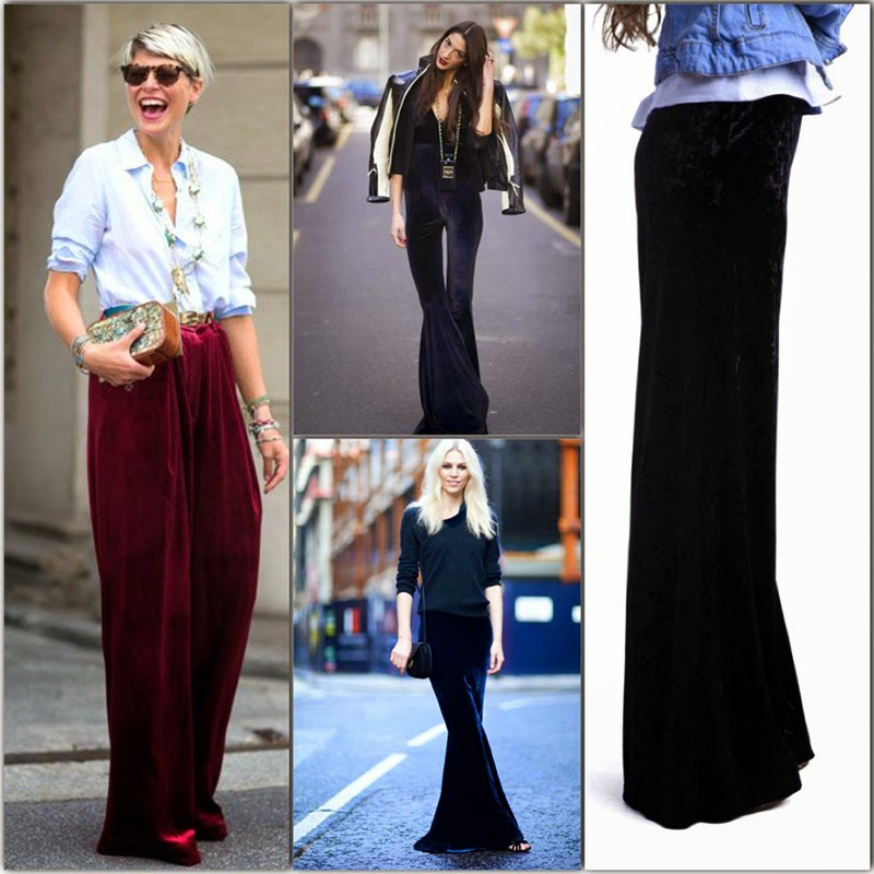 velvet pants by Ninasvintage