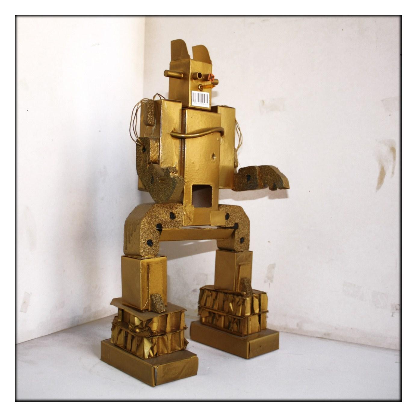 ROBOTS CON CAJAS | .imagenesola imagen y la educacion plastica y