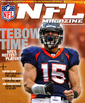 The NFL Magazine Has Tebow On It