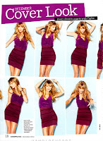 Taylor Swift various images in short body tight purple dress