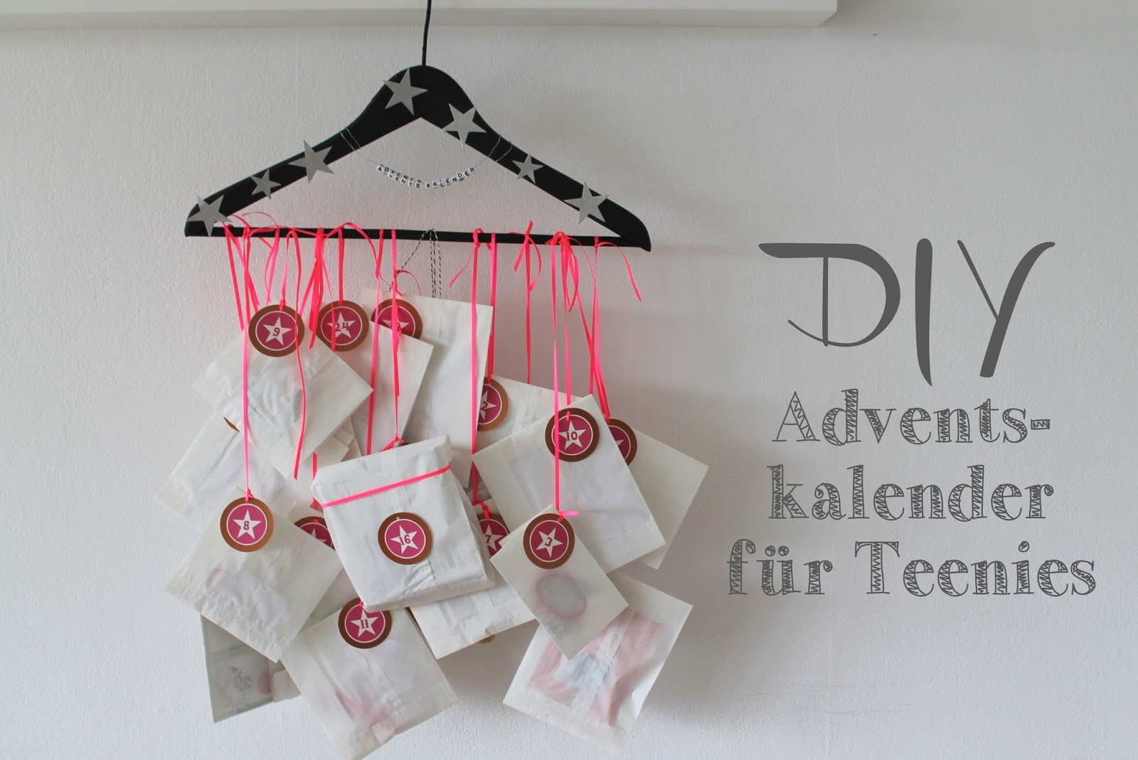 kleines freudenhaus diy adventskalender f r teenies. Black Bedroom Furniture Sets. Home Design Ideas