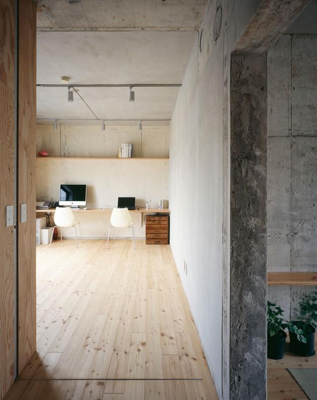 Apartamento rustico y actual en japon for Interiorismo rustico