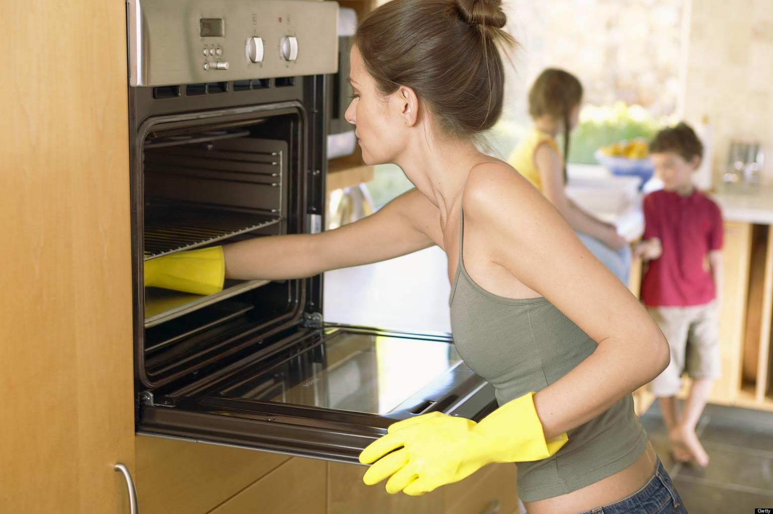 Способы очистки духовки 8