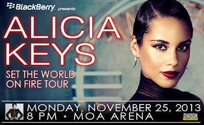 Alicia Keys Concert in Manila, Philippines