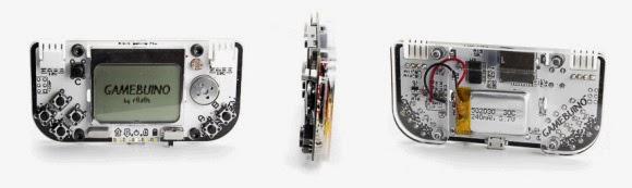 Gamebuino plataforma de jogos Arduino compatível