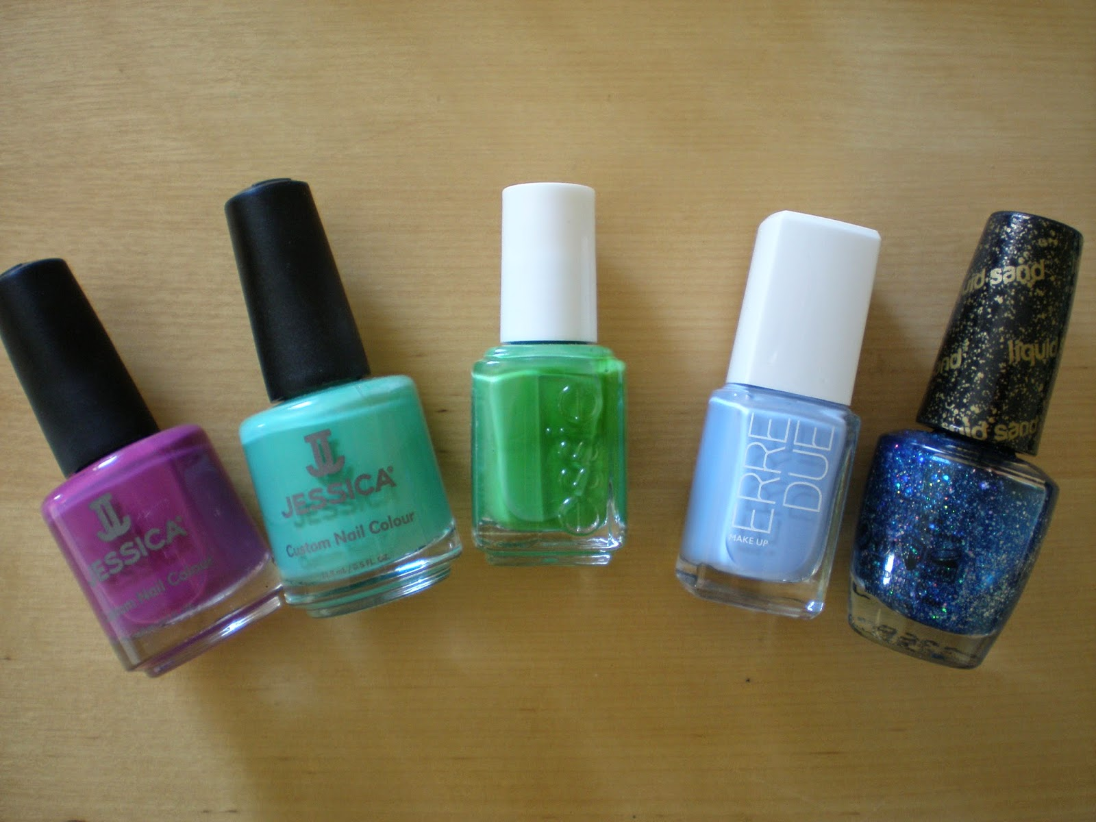 Summery nail polishes part 1