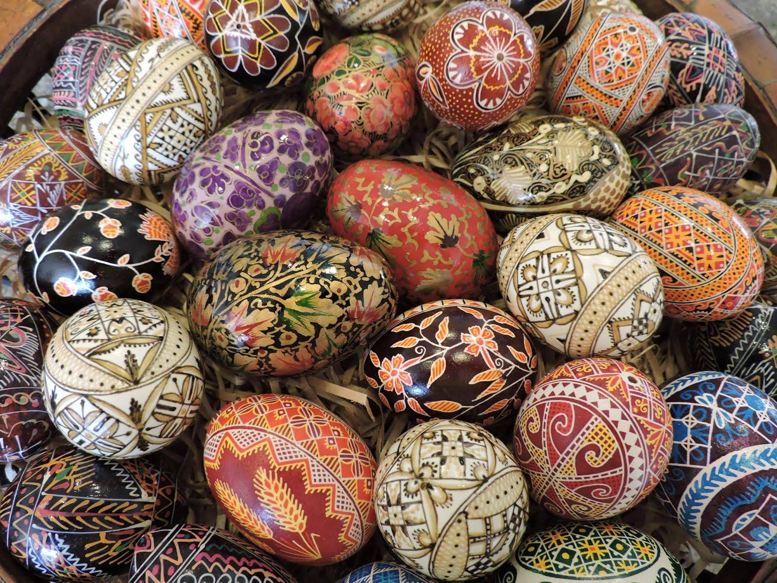 Polish Easter Eggs (Pisanki)