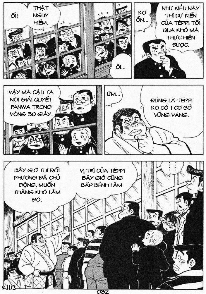 Siêu quậy Teppi chap 85 - Trang 32