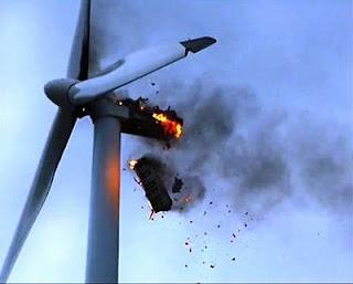 Ventoinha eolica também polui