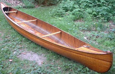 Longitudinal Strip Canoe