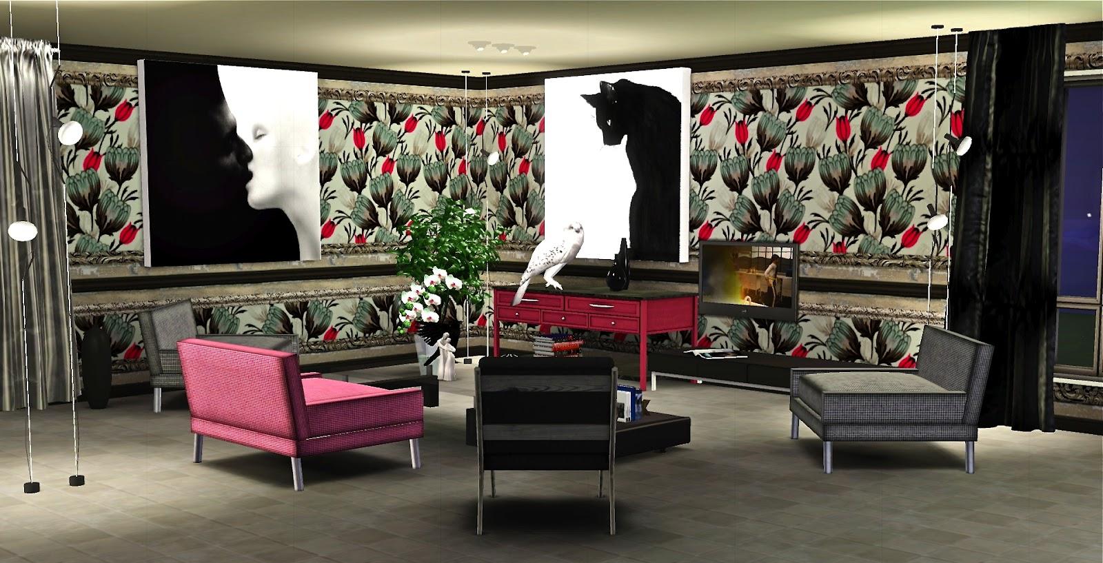 Le blog de guijobo patterns pour salon baiser de chat for Salon chat sexe