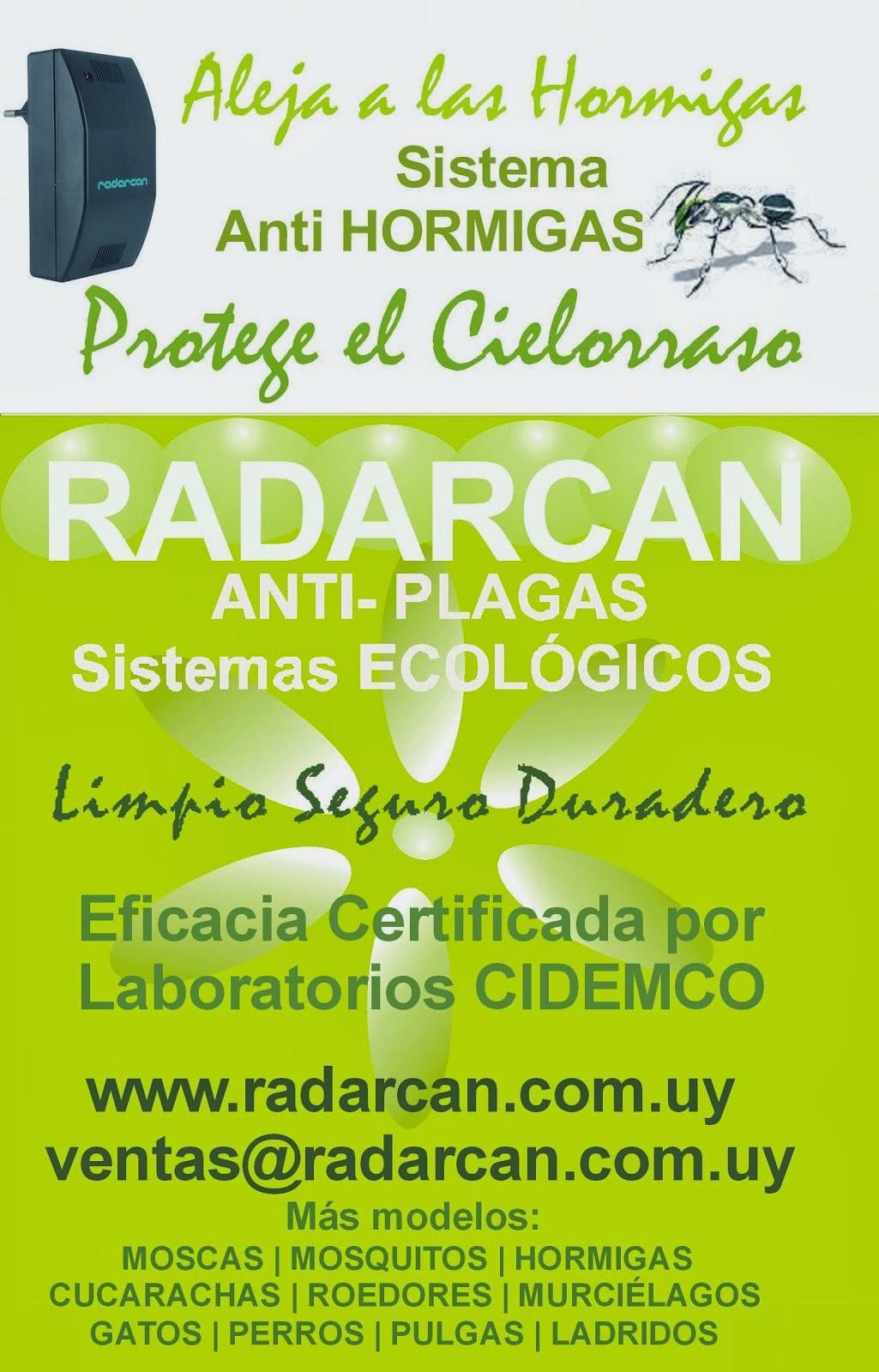 Radarcan Anti Hormigas de Hogar