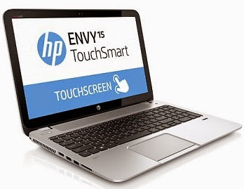 Lowest Price: HP Envy Touchsmart 15-j120TX Laptop (4th Gen Intel Core i5- 8GB RAM- 1 TB Hard Disk- 15.6 Inches Screen- 2 GB Graphics-Windows 8.1) for Rs.59722 Only