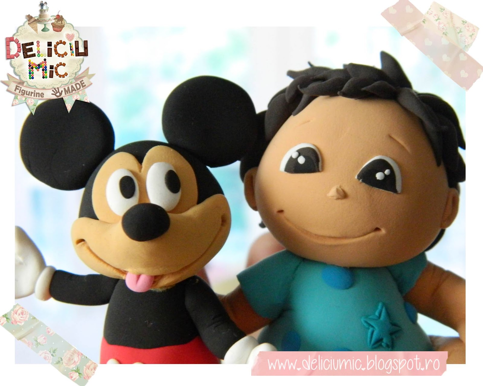Figurina de tort Mickey Mouse