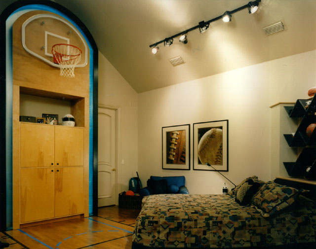 Boy Sport Theme Bedroom