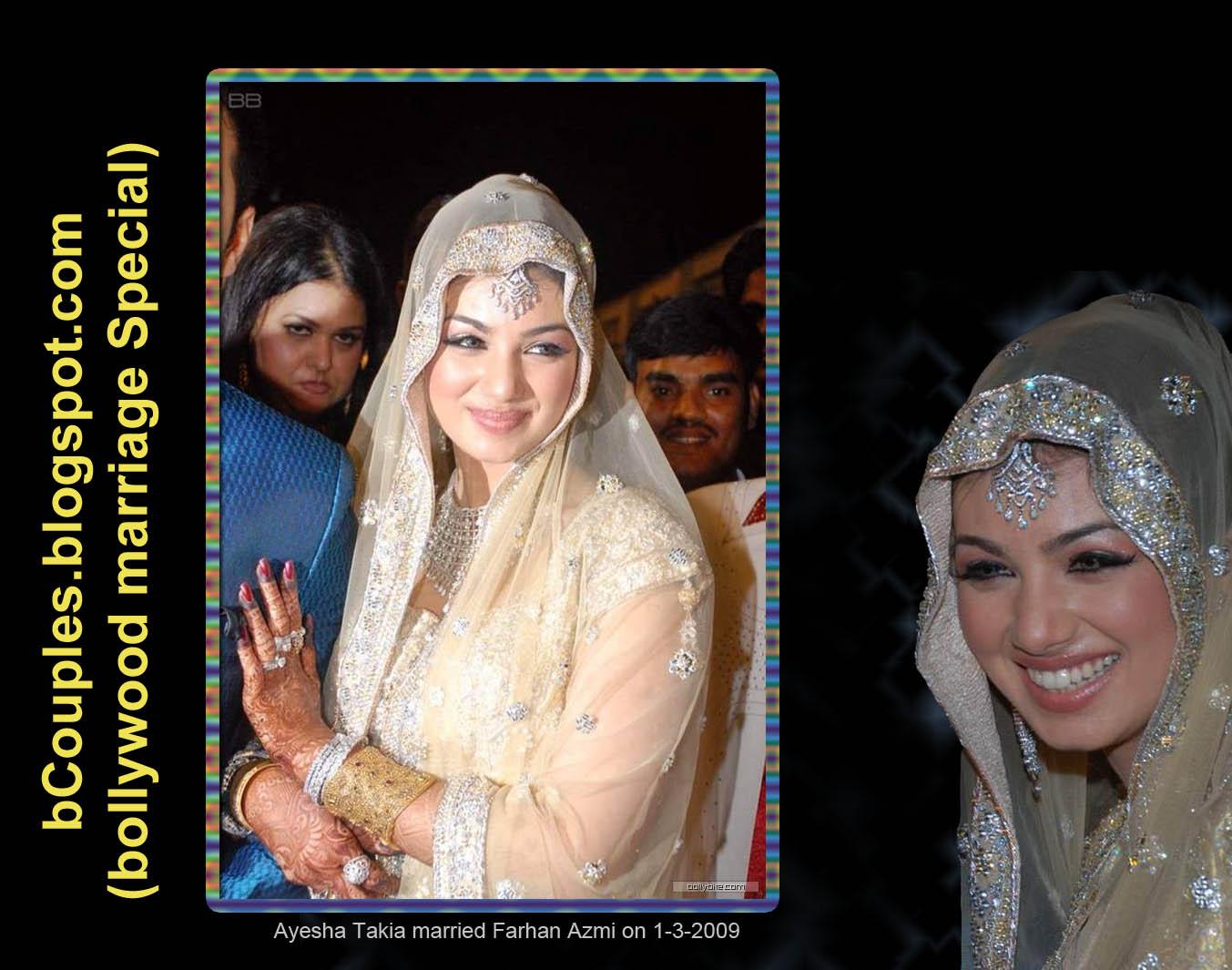 BollyWeddingsblogspot Ayesha Takia Wedding Photos