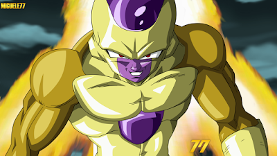 4. Gold Frieza [Dragon Ball Super]