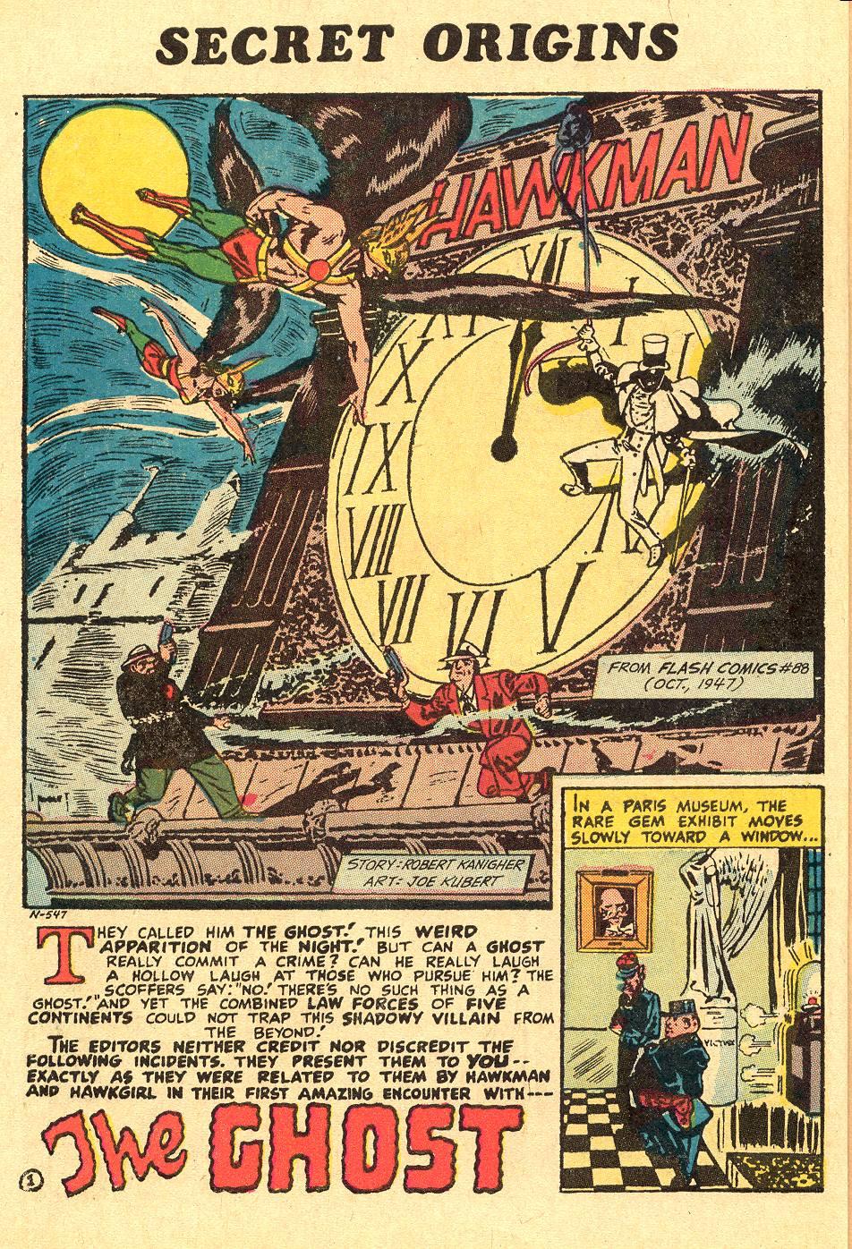 Read online Secret Origins (1973) comic -  Issue #1 - 6