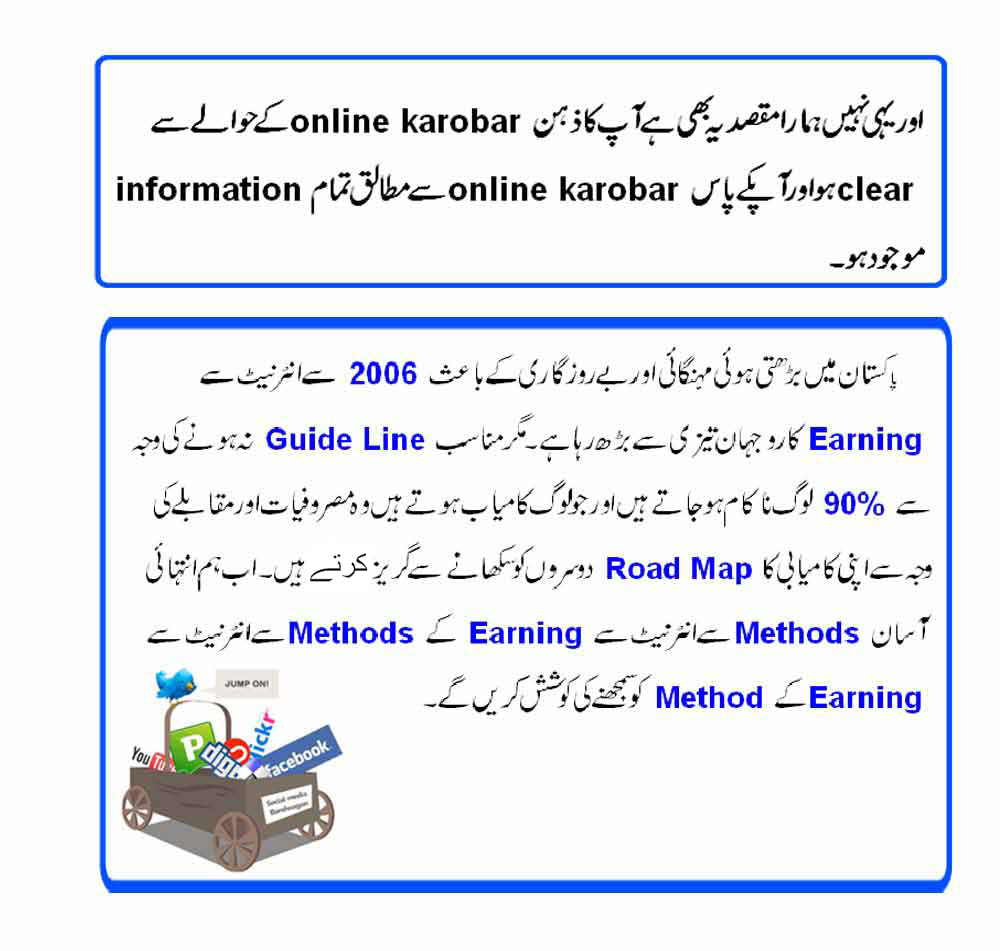 Online karobar training video