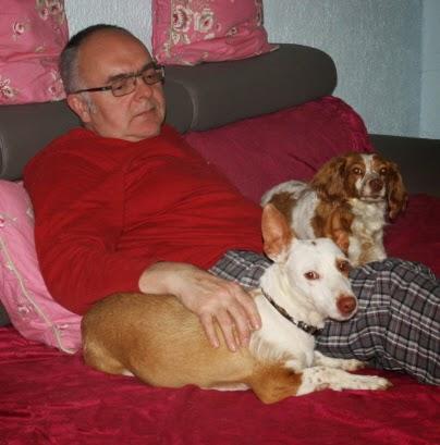 Loida mit Pflegepapa Gerald und Rosi