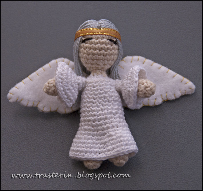 Amigurumi De Angel : Traster?n: angel amigurumi