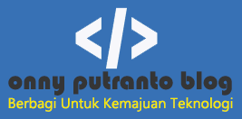 Onny Putranto Blog