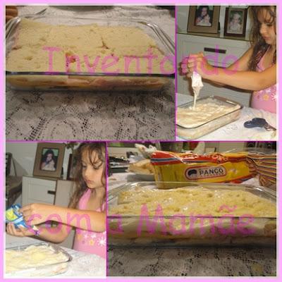 Lasanha de pão