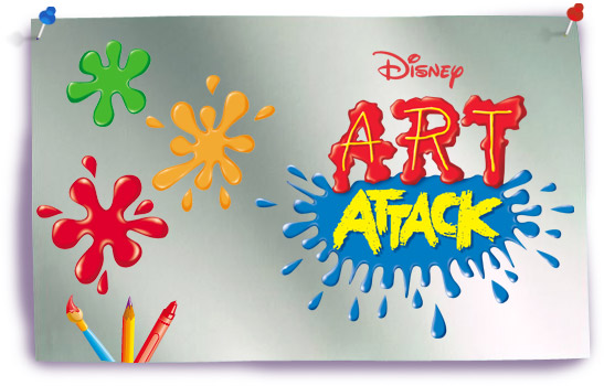 Art Attack para dibujar y colorear   colorearrr