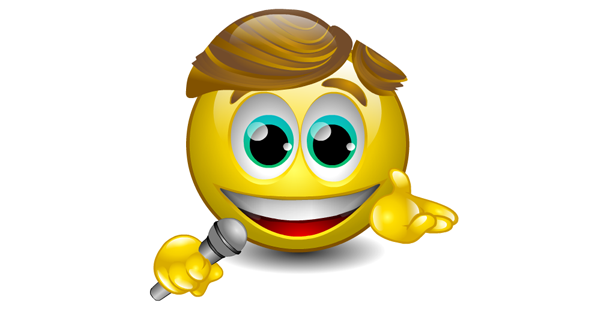 Singing Emoticon - Facebook Symbols and Chat Emoticons