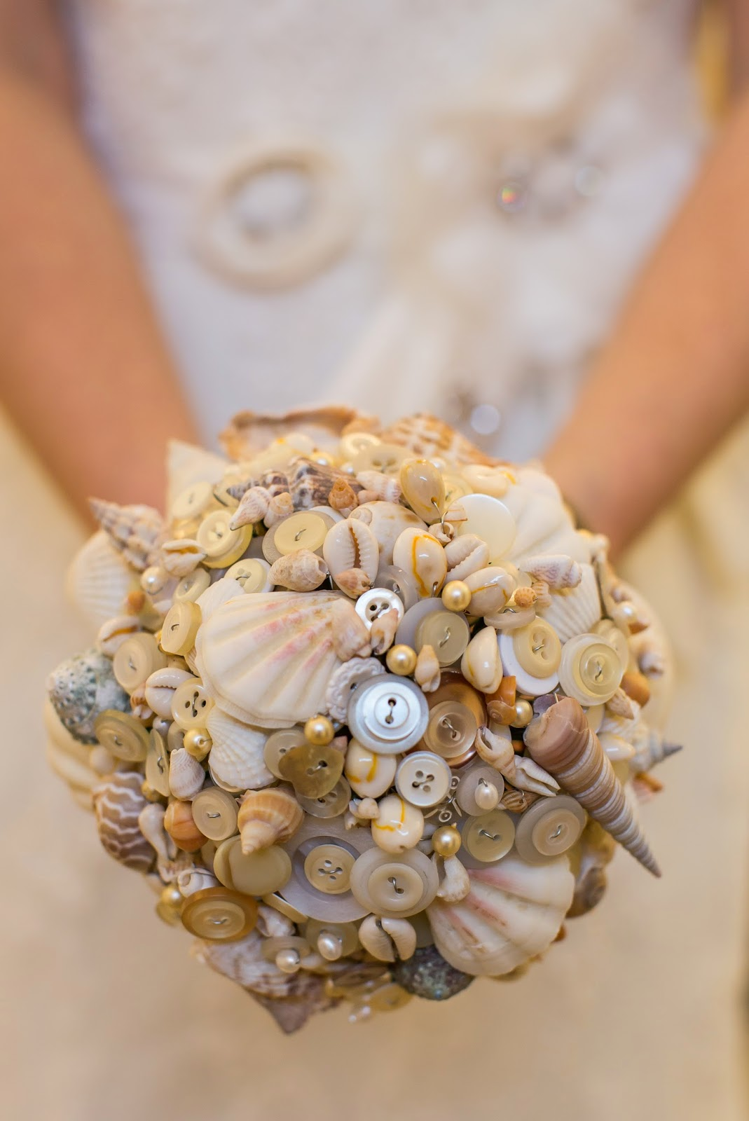 Beach Theme Wedding Bouquets Button Bouquets And Brooch Bouquets