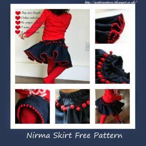 Poltam skirt - free pattern