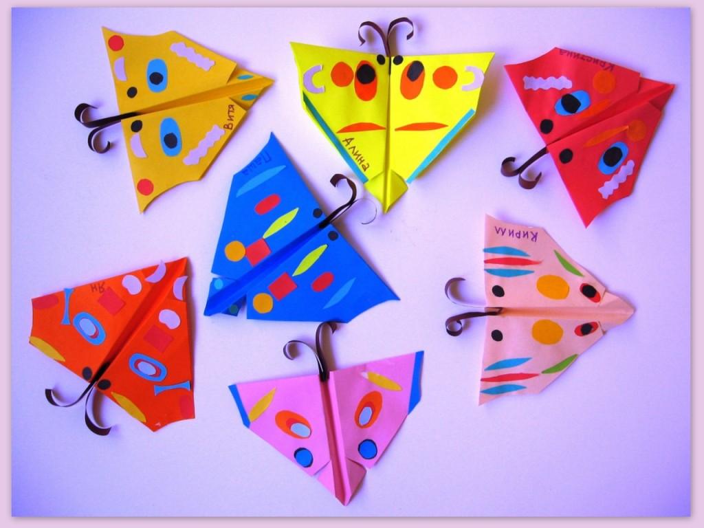 Конспект занятия по аппликации оригами