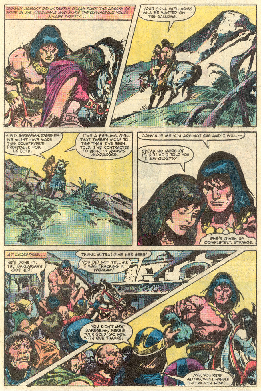 Conan the Barbarian (1970) Issue #134 #146 - English 7