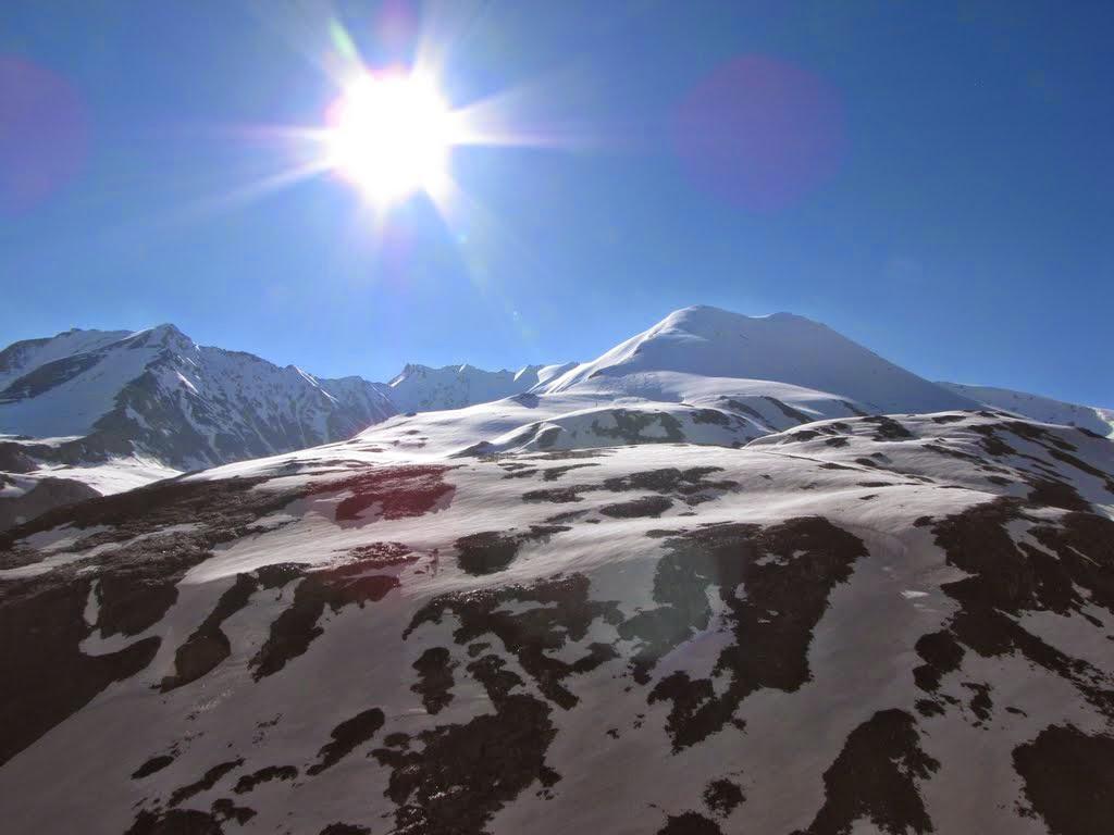 Beautiful Nature Images: Snow Mountain Sunrise   Beautiful ...