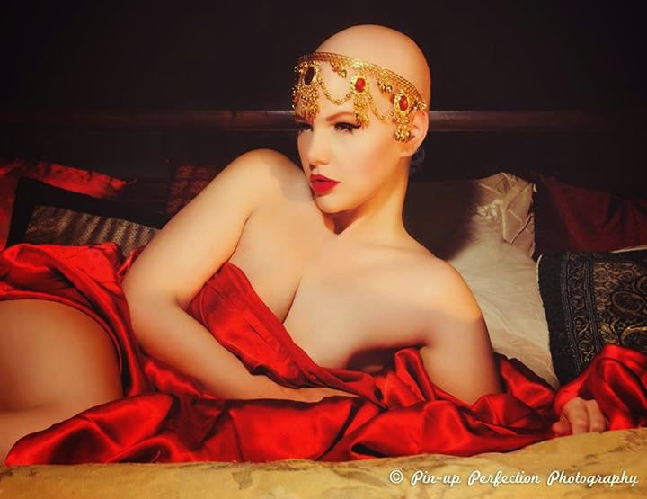 plus size model Elly Mayday via Lexi DeRock of Voluptuous Vintage Vixen Blog