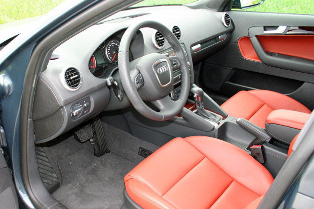 The New Audi A - Audi a3 interior